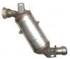 Filter pevných častíc DPF s katalyzátorom