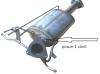Filtr pevných částic DPF