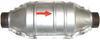 Univerzálný katalyzátor výfuku-benzín