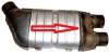 Univerzální katalyzátor výfuku-benzín